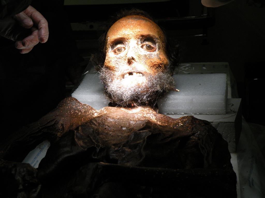Imagen de la momia de Prim
