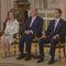 Los Reyes y los Príncipes de Asturias antes de la firma de la ley