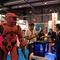 Una figura a tamaño real del conocido videojuego Halo.