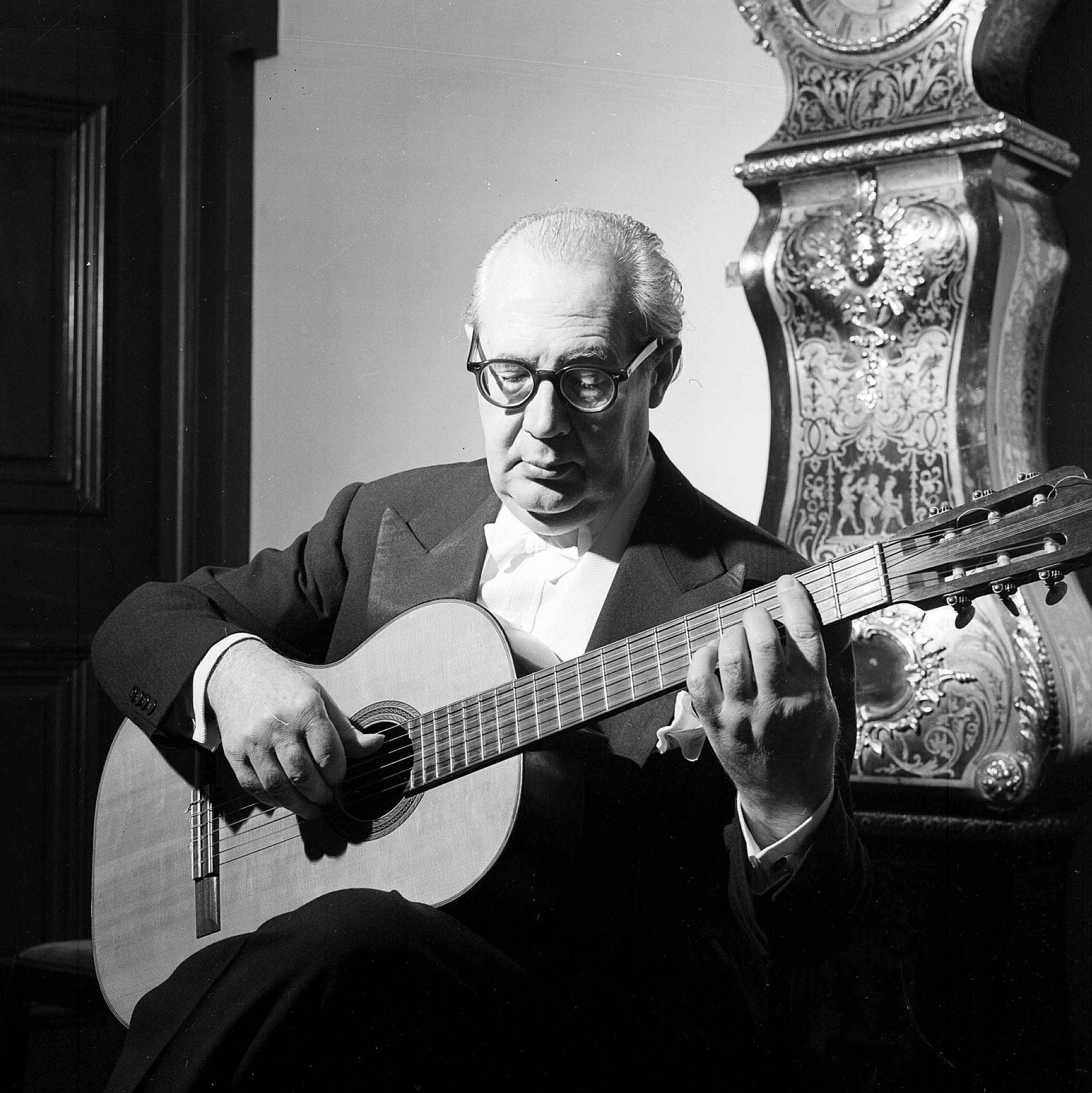 Αντρές Σεγκόβια - ο δάσκαλος της κιθάρας.