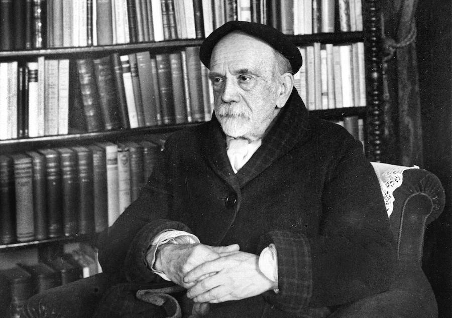 Hallan una novela inédita de Pío Baroja sobre la Guerra