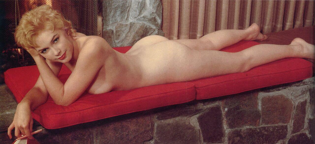 arlene dahl - 'playboy'- 'the nude look' - null