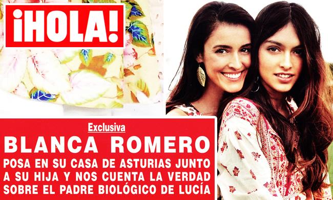 Blanca romero exhibe en 39 hola 39 su gran secreto chic for Blanca romero y cayetano rivera