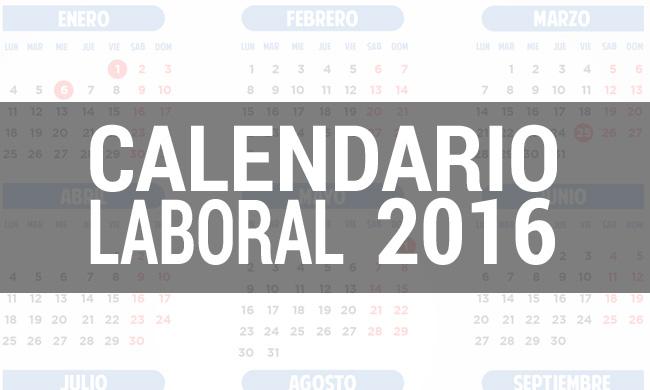 Calendario Laboral Elche.Este Es El Calendario Laboral De 2016 Libre Mercado