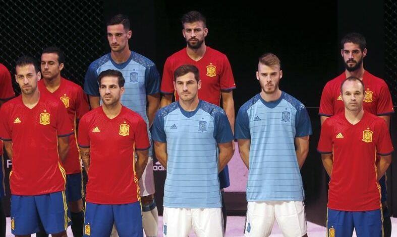 619e141bdee23 Así será la equipación de la selección española en la Eurocopa 2016 ...