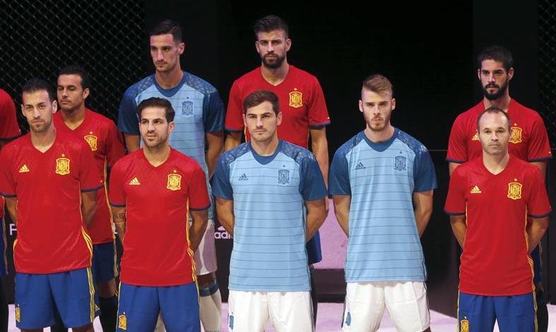 ed43726de715c Así será la equipación de la selección española en la Eurocopa 2016 -  Libertad Digital