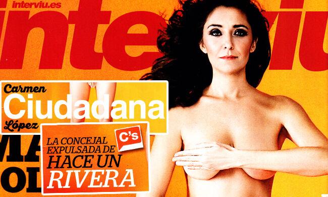 Carmen López La Concejal Díscola De Ciudadanos De Interviú A Gran
