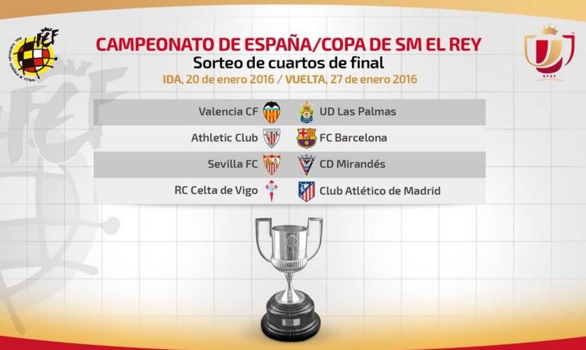 Athletic y Barcelona repiten final copera en cuartos de final ...