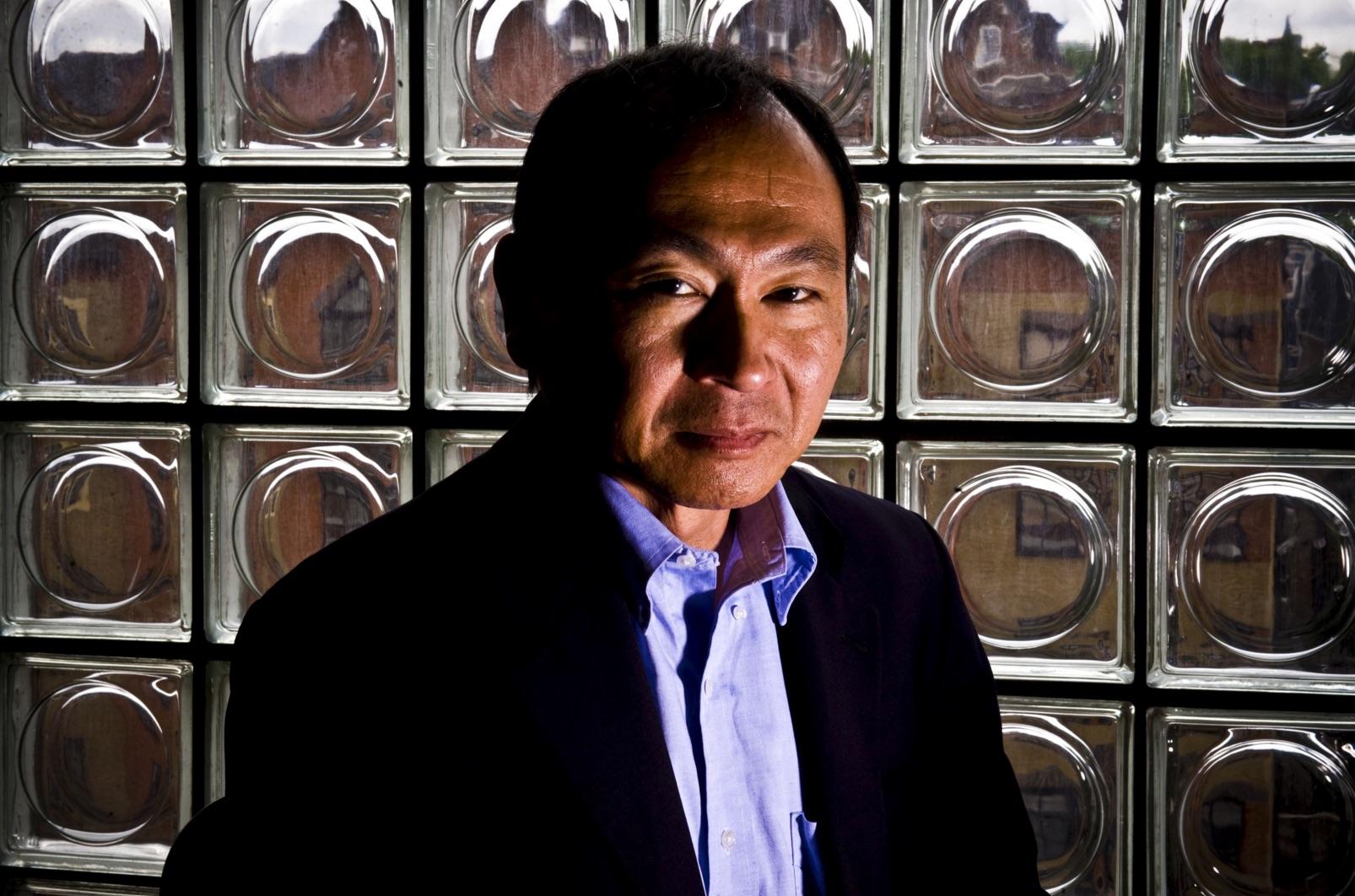 El profesor de historia Francis Fukuyama en Londres. Imagen de The Sunday Times