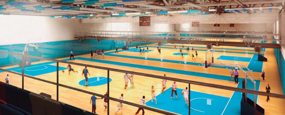 La ciudad deportiva de valdebebas sigue creciendo con el for Gimnasio nirvana
