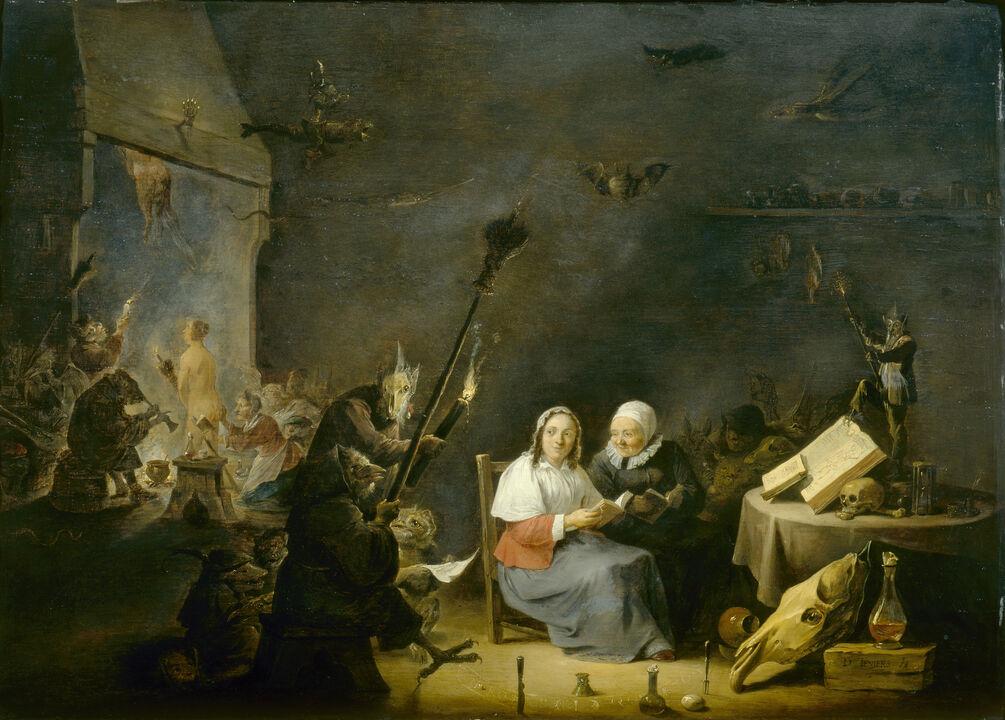 Картинки по запросу david teniers witch
