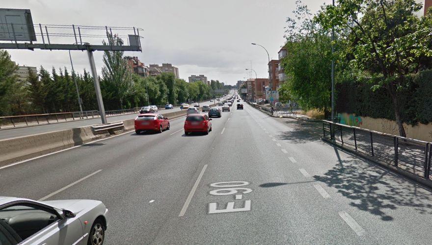 Carmena transformará la A-5 en una calle: limitación a 50 km/h, semáforos y un carril bus-vao