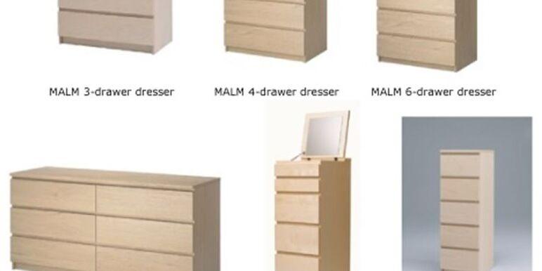 Ikea retira 29 millones de cómodas Malm por la muerte de