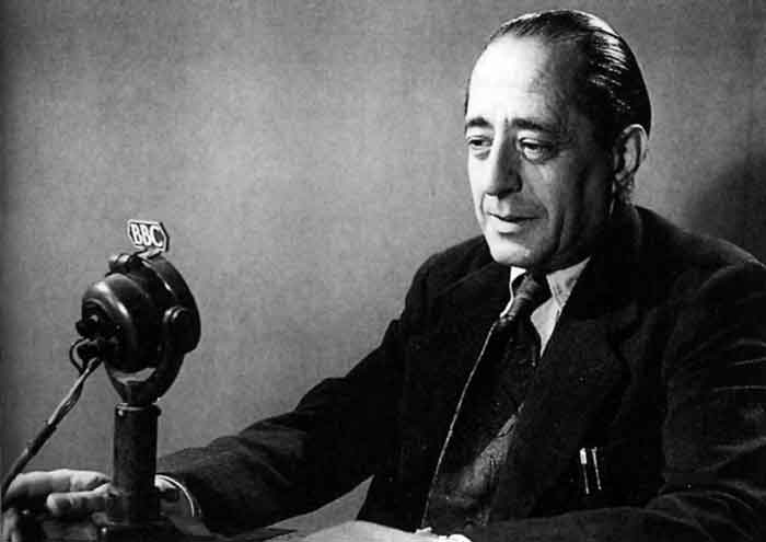 El escritor Arturo Barea