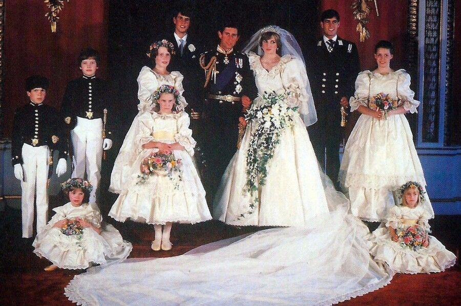 vestido de boda de lady di – vestidos de noche