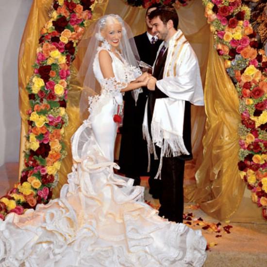 los vestidos de novia más feos de las famosas- chic