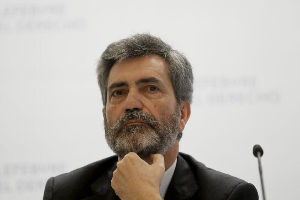 Lesmes intenta sofocar la rebelión en el CGPJ y propone no analizar la idoneidad de Delgado