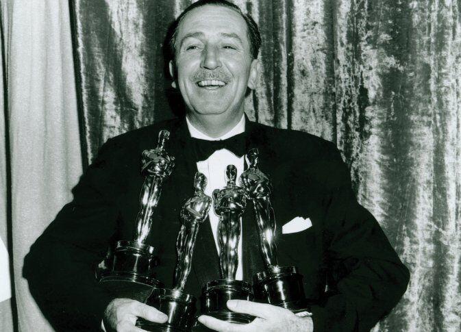 Walt Disney ganador de oscars