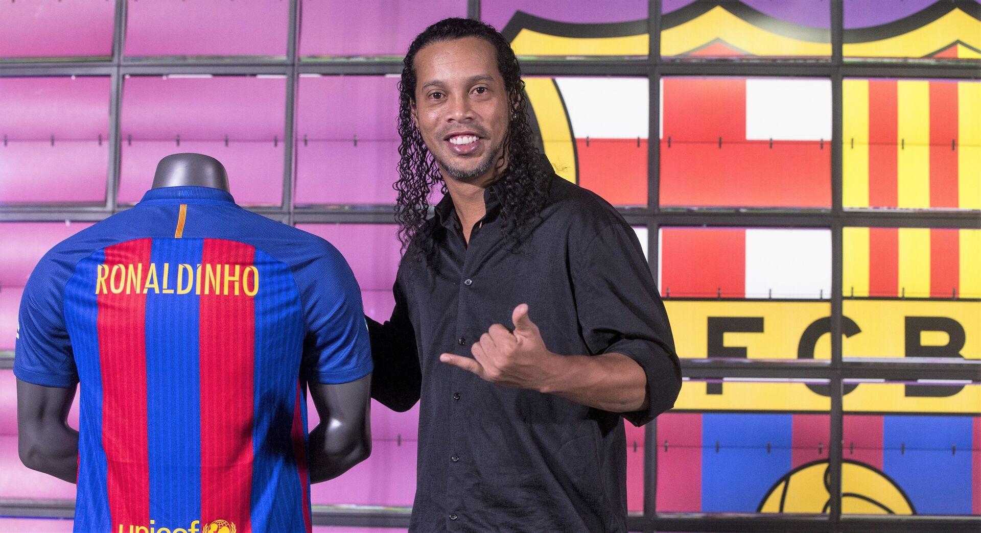 Ronaldinho rechazó a Manchester United para firmar con Barcelona; Paul Scholes revela que por este motivo lo pateaban en los juegos