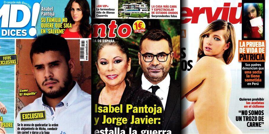 Las Portadas De La Prensa Rosa Chic