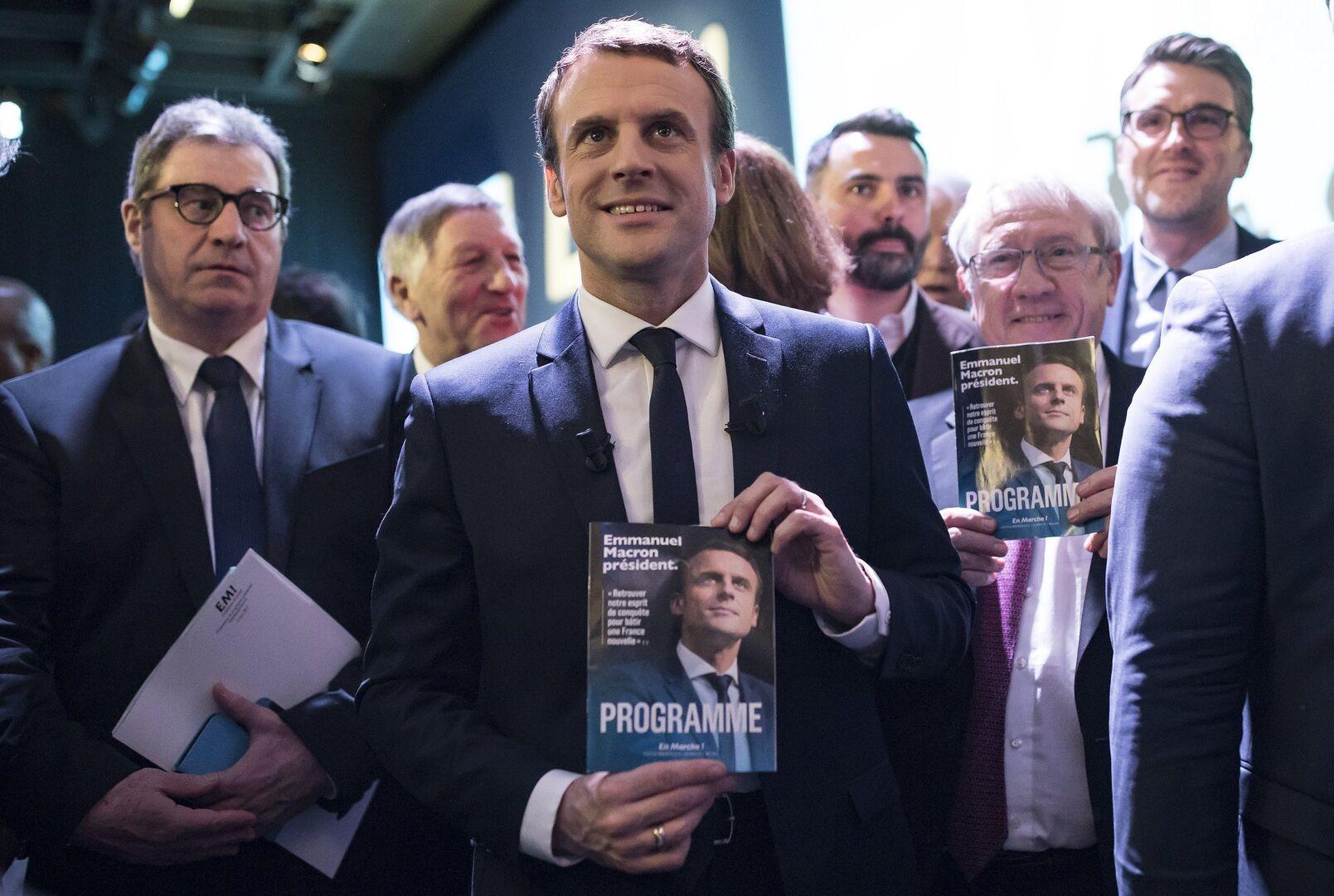 Diez Frases De Emmanuel Macron Algún Político Español Se