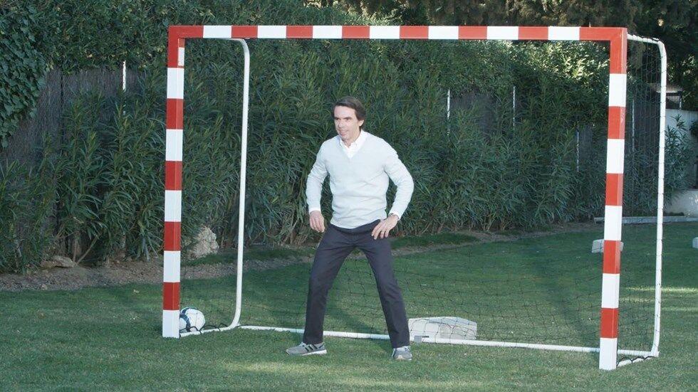 ¿Cuánto mide José María Aznar? - Altura - Página 3 Aznar-porteria-bertin