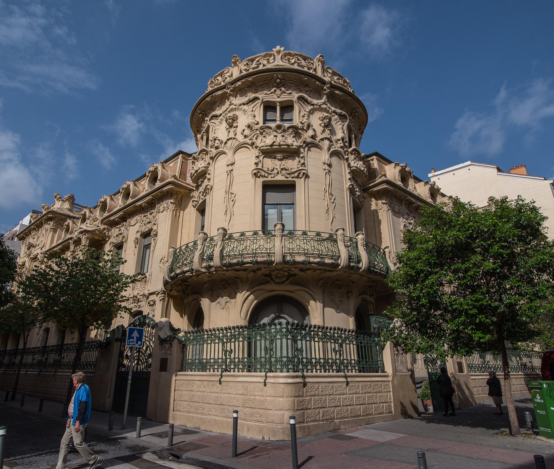 La fachada del Palacio de Longoria |C.Jordá