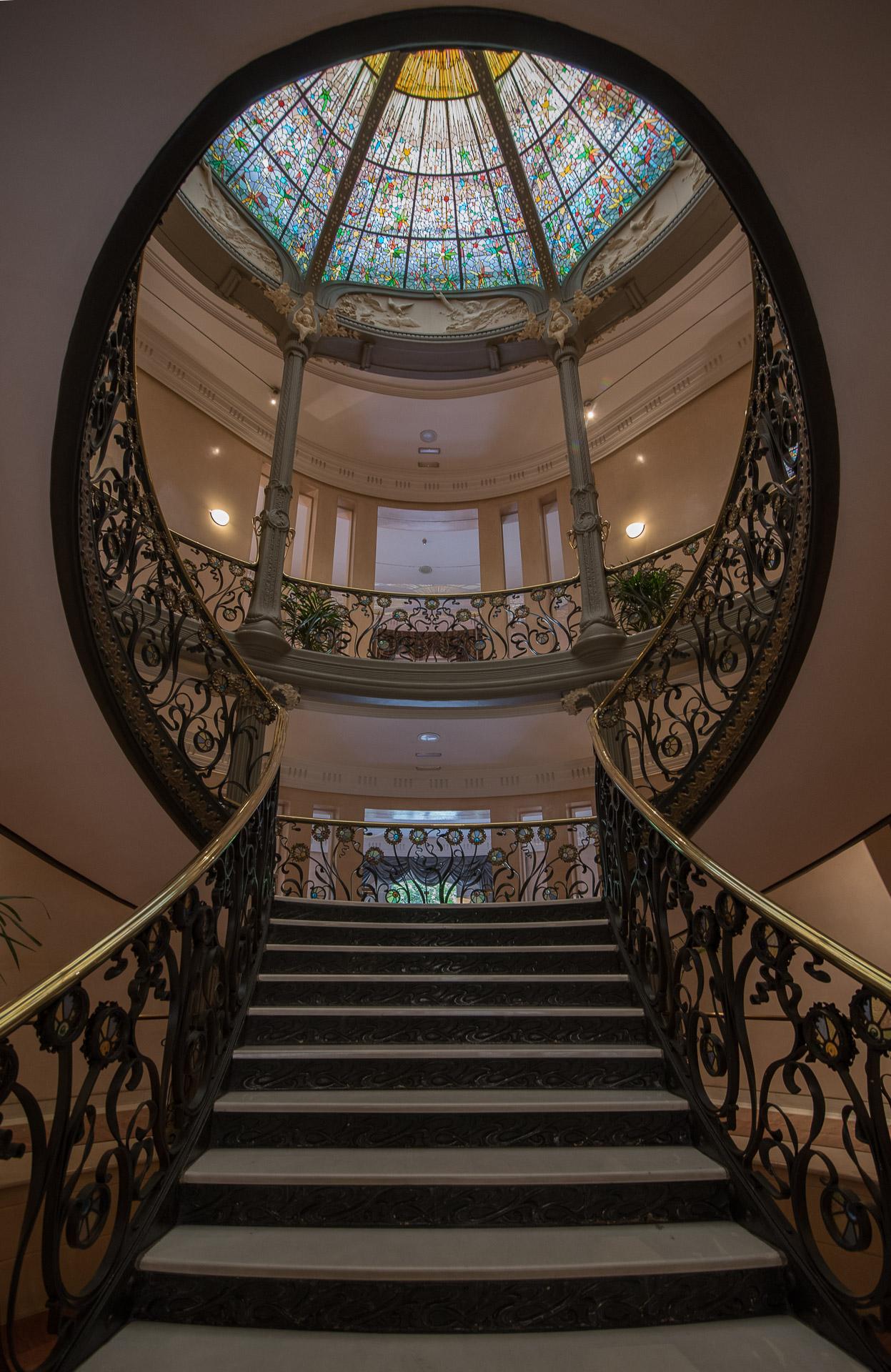 Escalera principal del Palacio de Longoria | C.Jordá