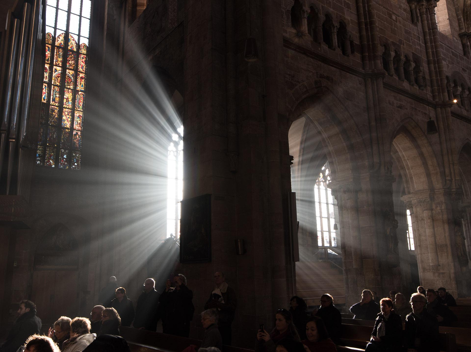Una luz muy especial en San Sebaldo   C.Jordá
