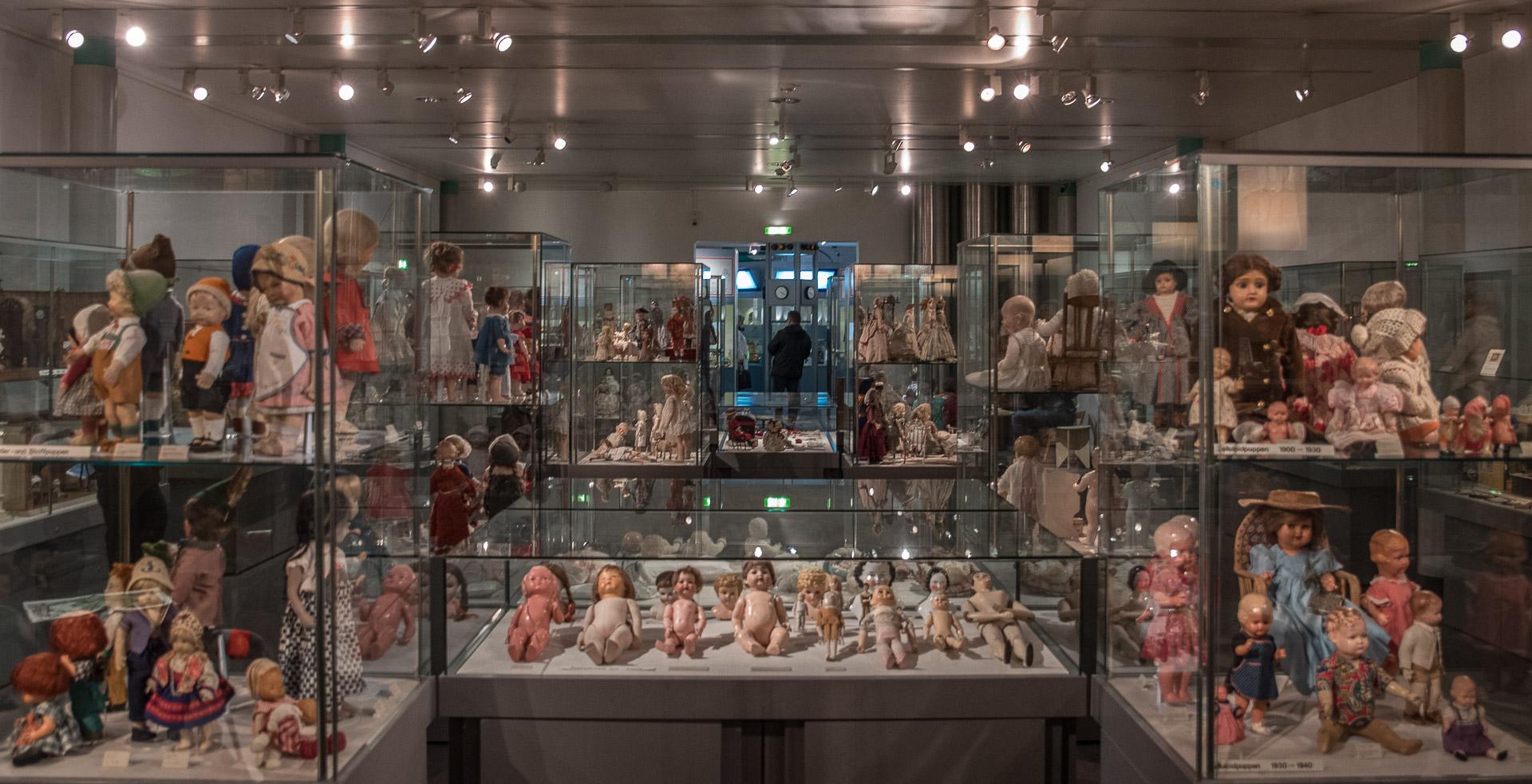 Una sala del Museo dle Juguete   C.Jordá