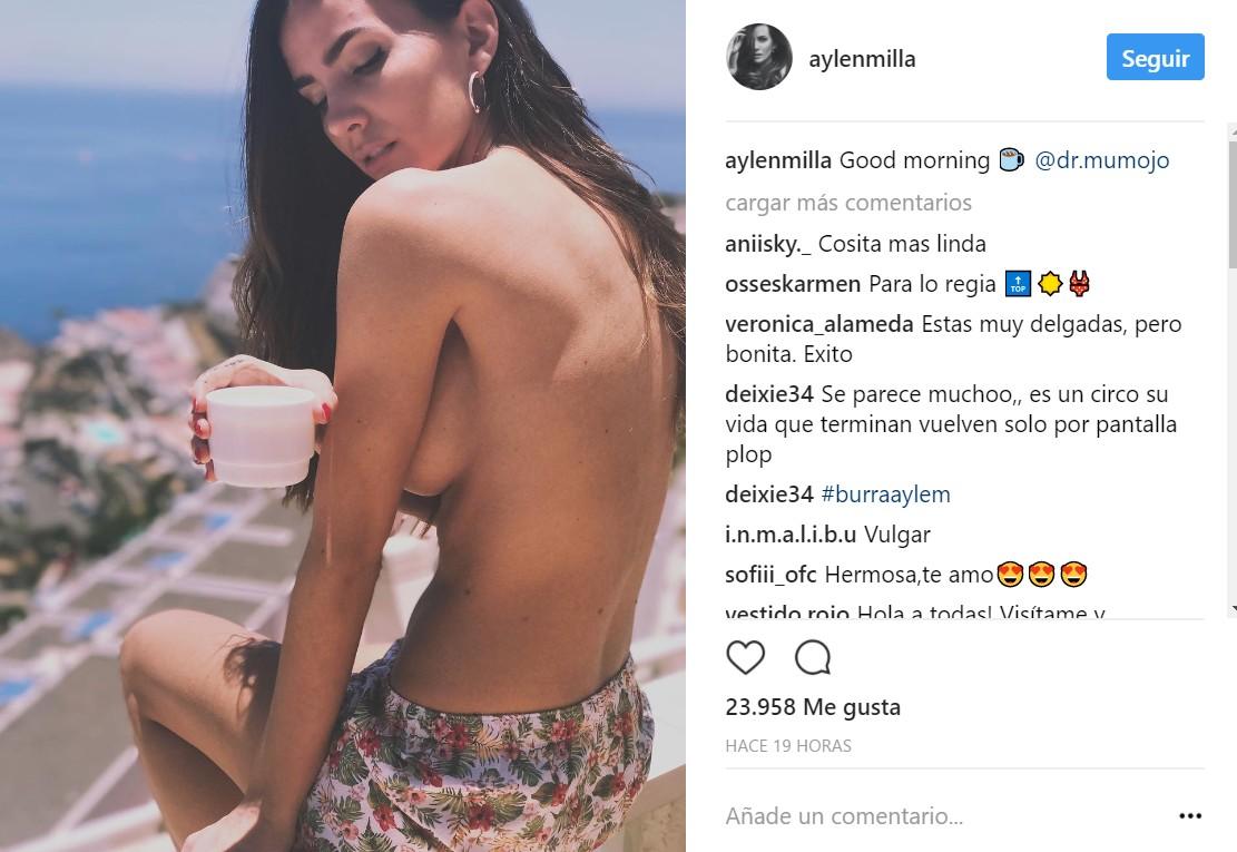 Aylén Milla Se Desnuda Para Celebrar Su Ruptura Con Marco Ferri Chic