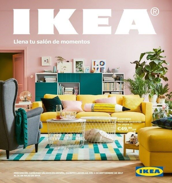 as es el nuevo cat logo de ikea que recibir n 10 millones de hogares en espa a libre mercado. Black Bedroom Furniture Sets. Home Design Ideas