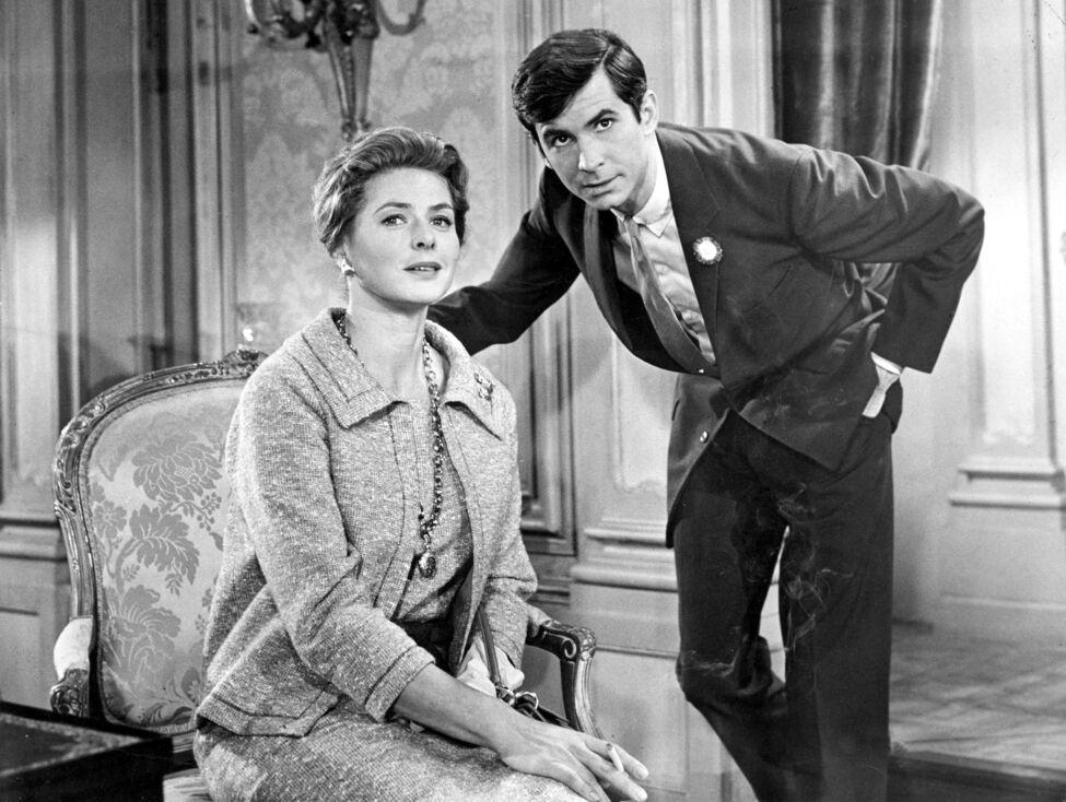 La atormentada vida de Anthony Perkins IngridBergman-AnthonyPerkins-1961