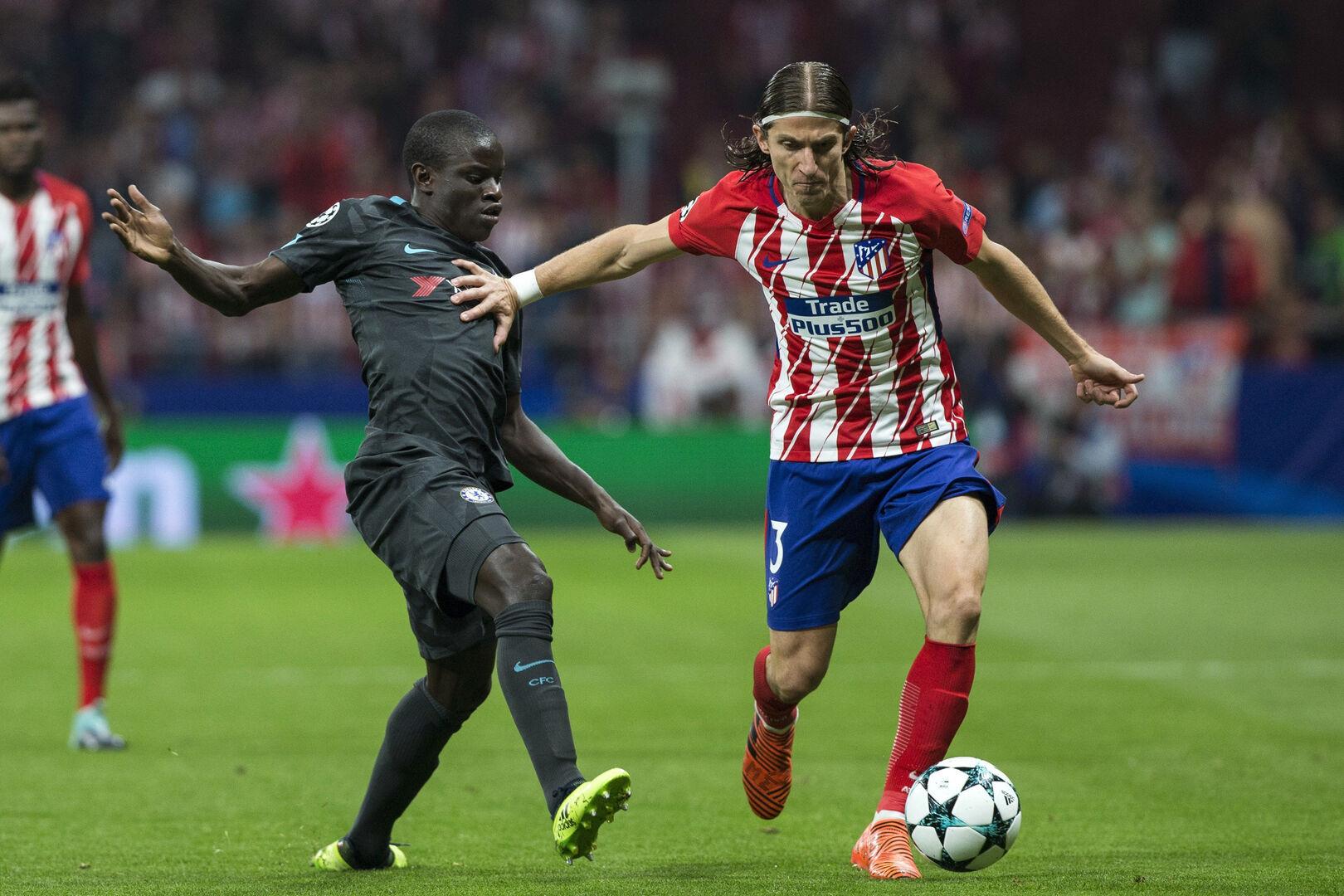 Imagen del Atlético de Madrid -Chelsea disputado en la fase de grupos de la  presente edición de la Champions League.  92def10151d4e