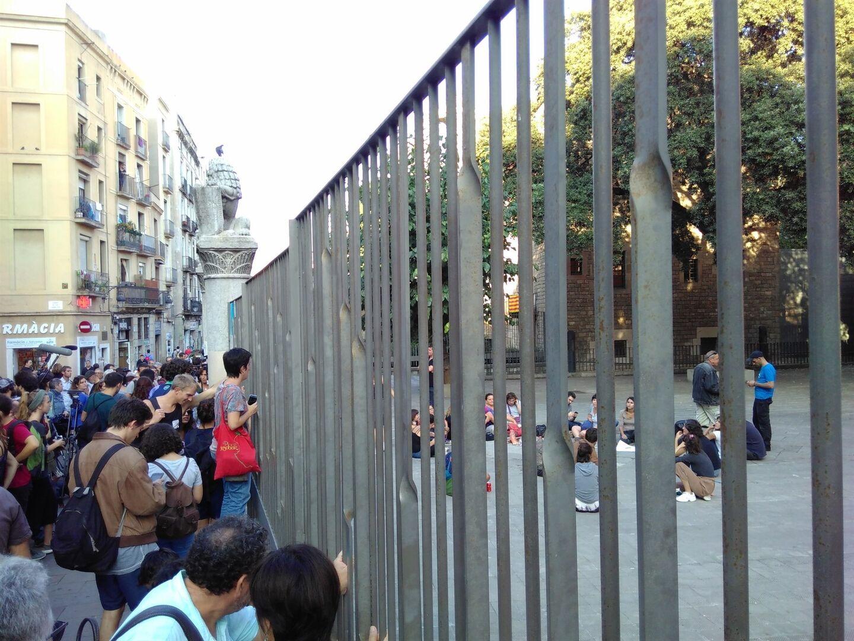 Colegio de de barcelona affordable el friso o mural de los gigantes de picasso del colegio de - Colegio de notarios de barcelona ...