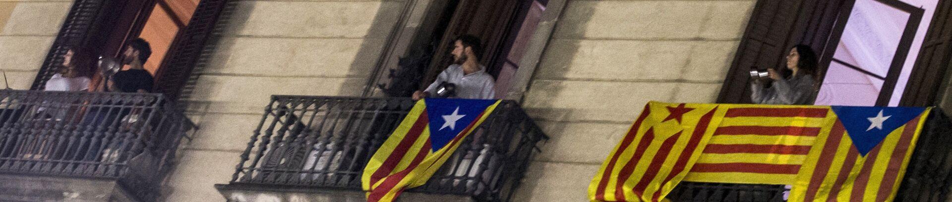 71b2c63916 Separatistas hacen ruido con cacerolas desde sus casas