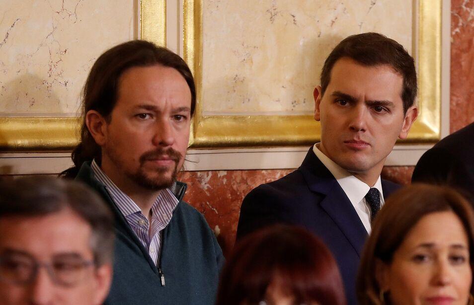 Iglesias inventa el Gobierno en cómodos plazos, y Rivera, el de rebote