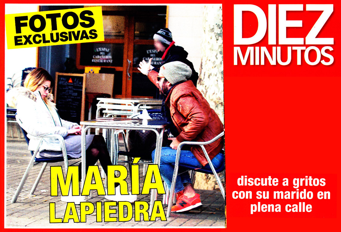 Actrices Porno En Madrid En Plena Calle maría lapiedra y su marido, a gritos en plena calle - chic