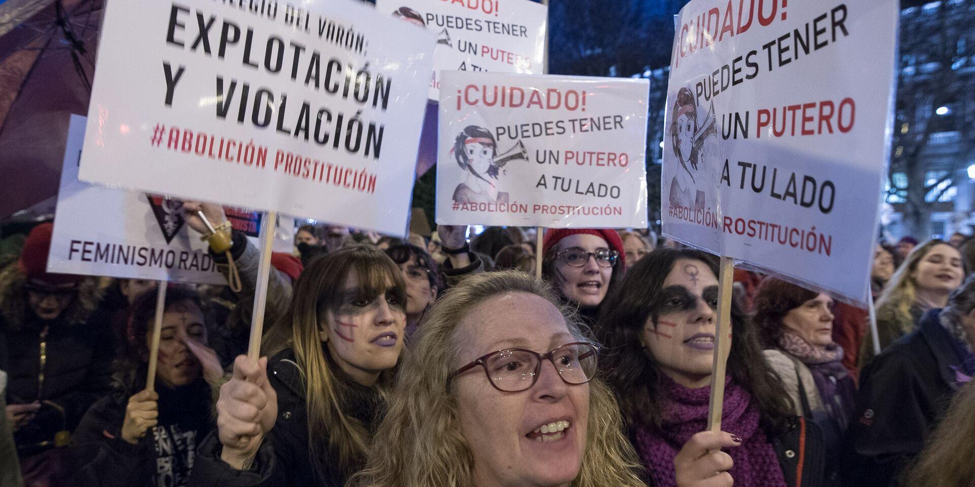 La Manifestación Feminista Desde Dentro Saca Tu Rosario De