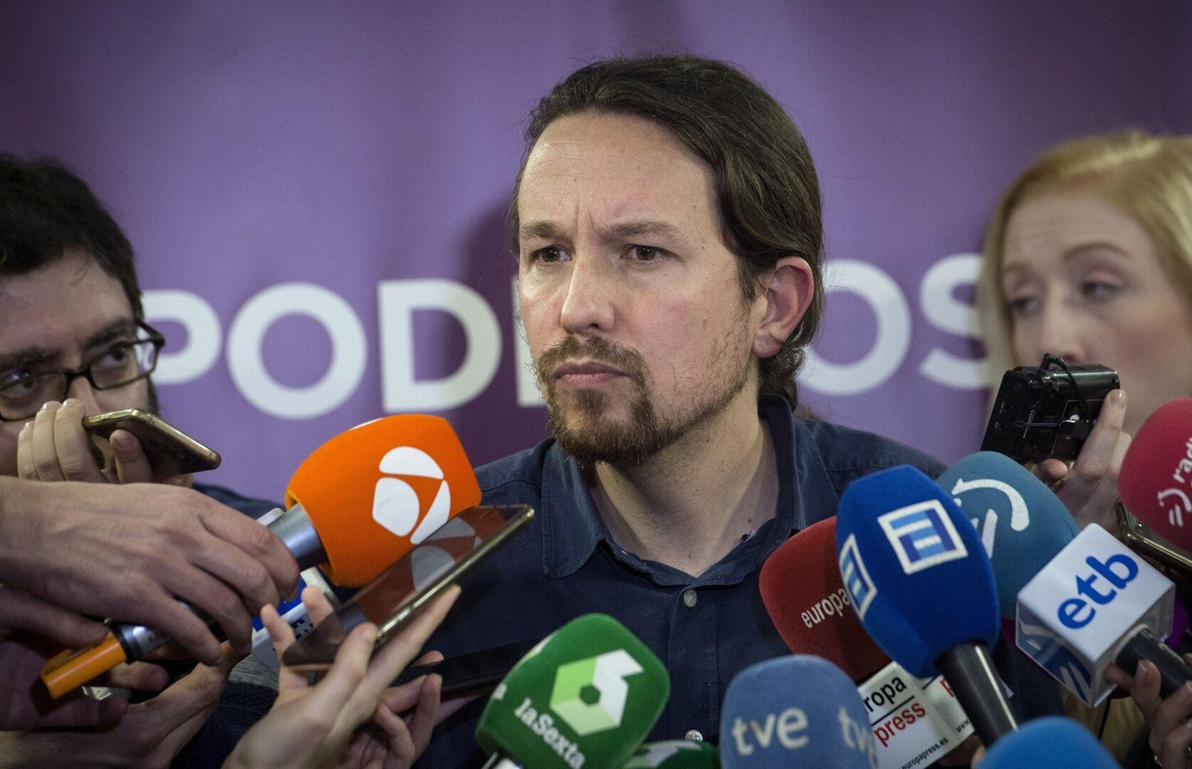 """[UP] Pablo Iglesias: """"Estamos hablando sobre una nueva reforma laboral"""" 100318_pablo_iglesias"""
