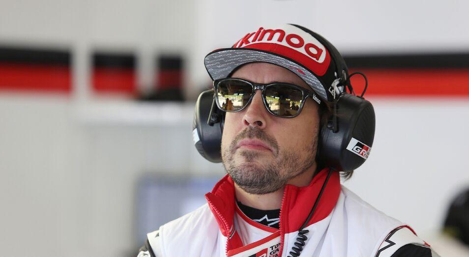 Fernando Alonso en una de las pruebas del Mundial de Resistencia.