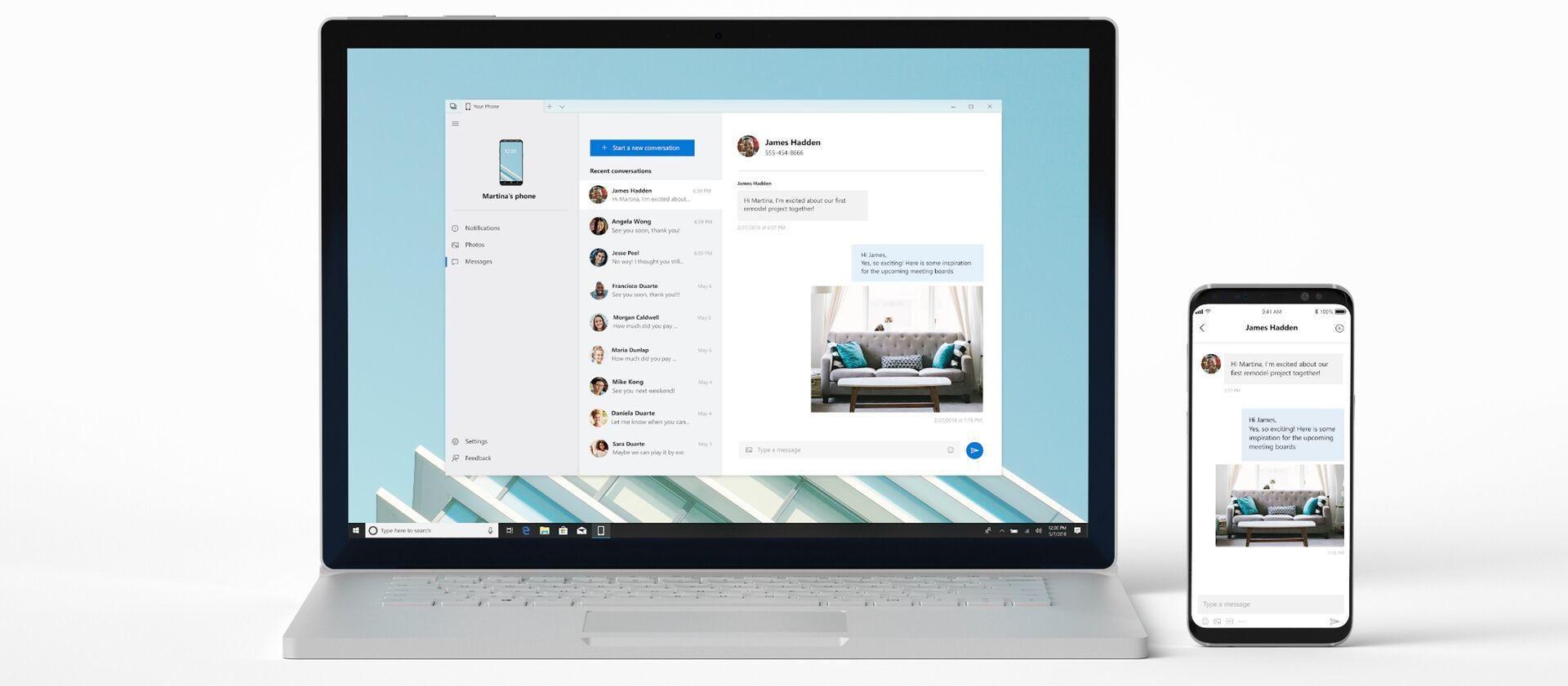 Windows 10 permitirá arrastrar y soltar archivos desde el móvil al ordenador