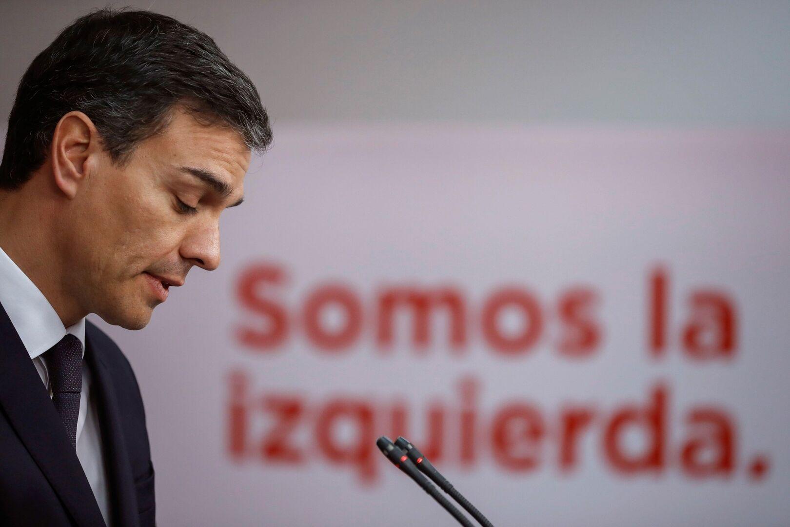 Sánchez propone elecciones anticipadas si sale adelante la moción de censura