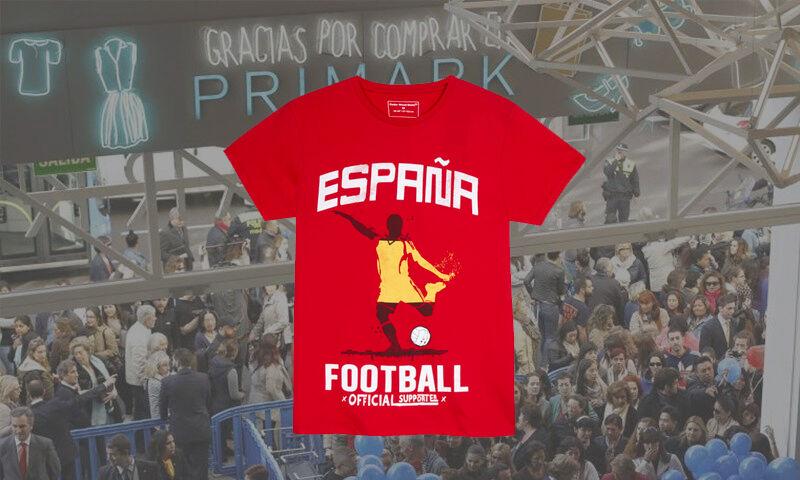 561bed39e2692 Primark rectifica y venderá camisetas de  España  en Cataluña