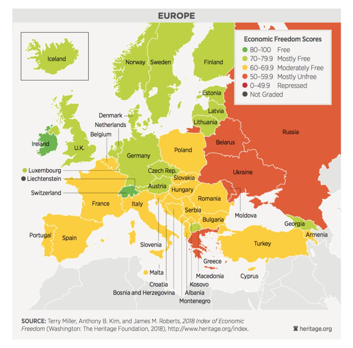 Irlanda y Estonia se sitúan como los dos referentes liberales de la ...