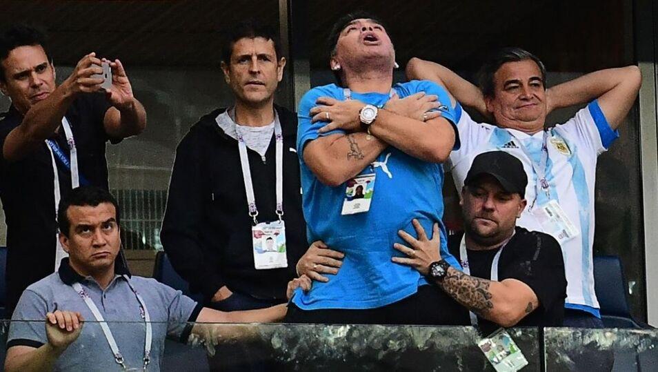 Maradona ya no se acuerda ni de lo que dice - Libertad Digital