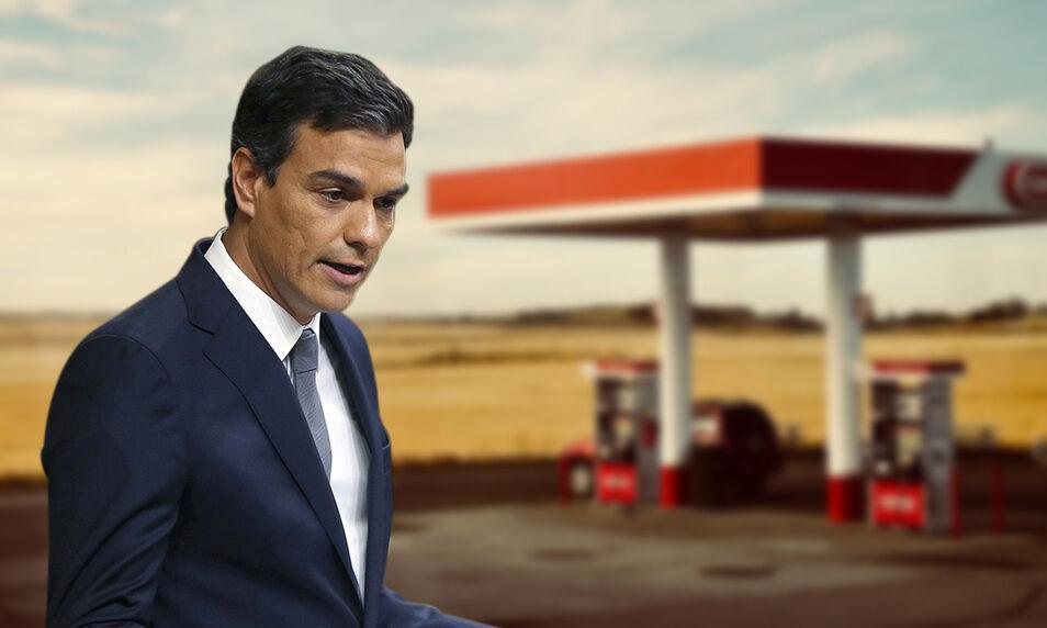 Se apellida Sánchez, pero es otro Zapatero Pedro-gasolinera-2