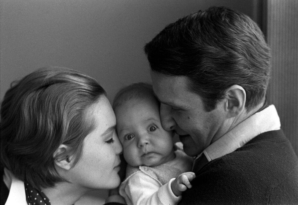 Romy Schneider murió de pena tras la muerte trágica de su hijo Romy-schneider-hijo