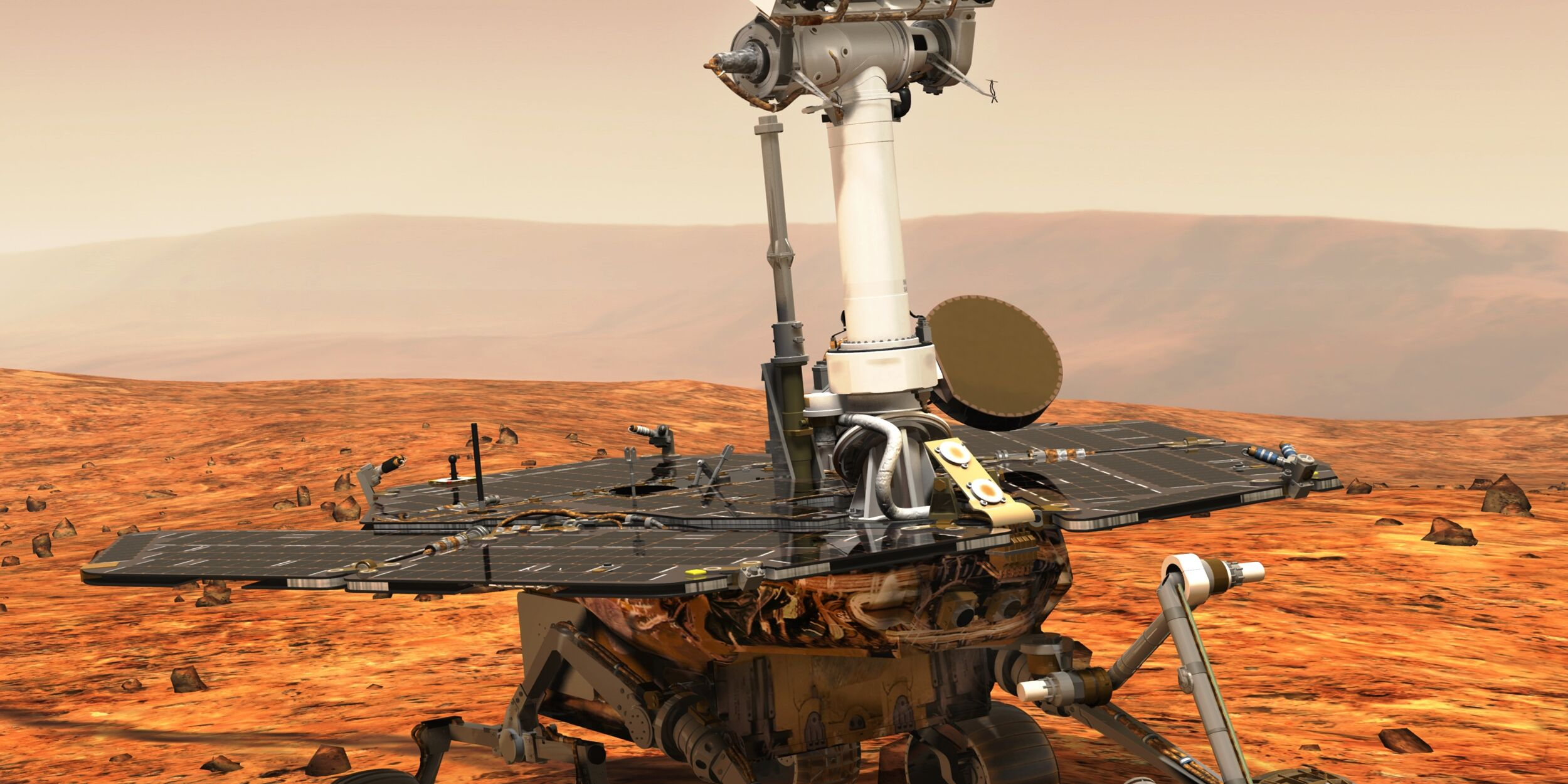 mars rover opportunity - 825×462