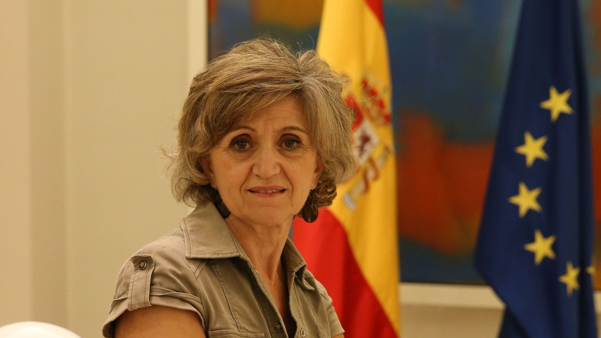 Resultado de imagen de Ministra de sanidad española